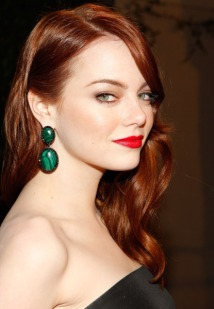 Emma Stone Red Hair Superman